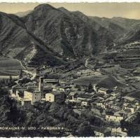 Bagno di Romagna, panorama, anni Cinquanta