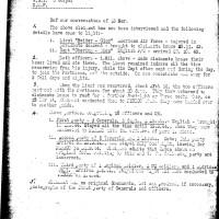 I tre gruppi di generali inglesi passati per Spinello (Fondo R. Absalom)