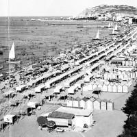 Spiaggia di Cattolica, fotografia storica