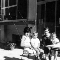 Villeggianti a Cattolica, anni Sessanta