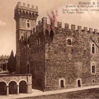 Castello di Vincigliata, rara cartolina di inizio 900