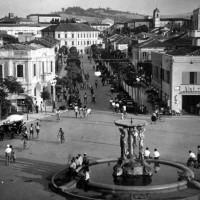 Cattolica, Piazzale del Kursaal (fotografia storica)