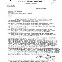 Lettera di Ettore Sovera, I (Fondo Roger Absalom)