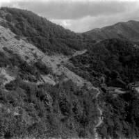 Spinello, anni Venti, veduta su M. Aiola e monti circostanti (Archivio P. Zangheri)