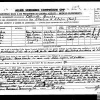 Collinelli Quinto, Assistenza data ad ex prigionieri di guerra alleati (Fondo R. Absalom)